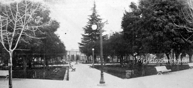 Plaza Departamental año 1938