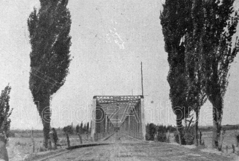 Puente del Río Mendoza 1920