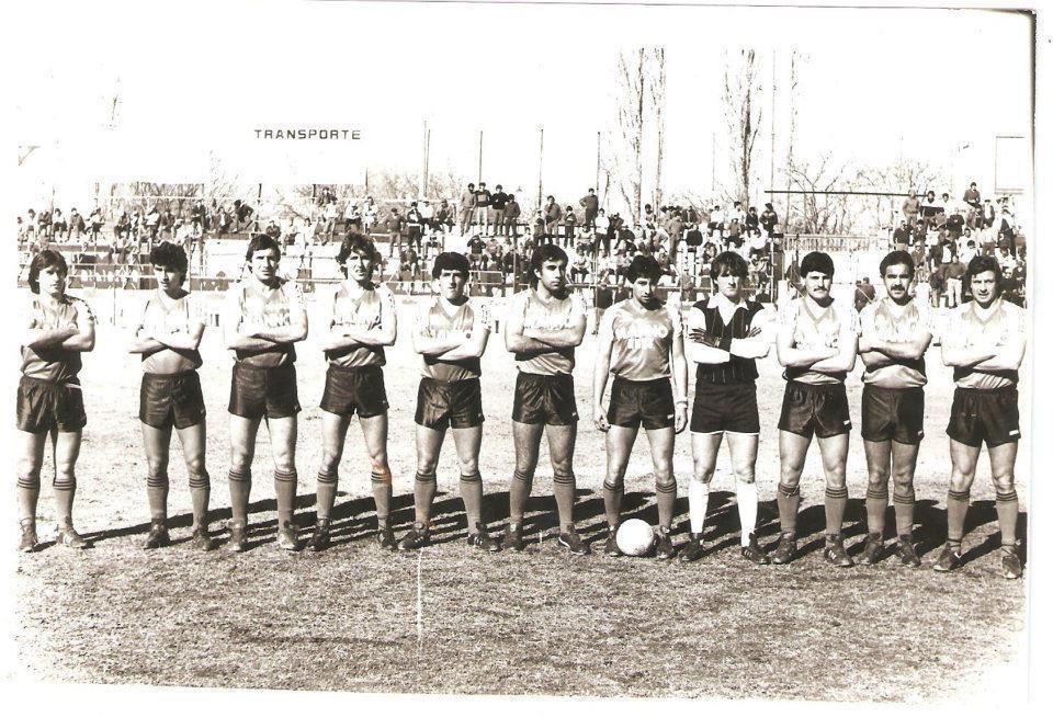 Equipo de los 80s Luján Sport Club BN