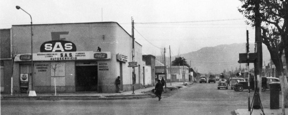 San Martín y Saenz Peña hacia el Oeste BN