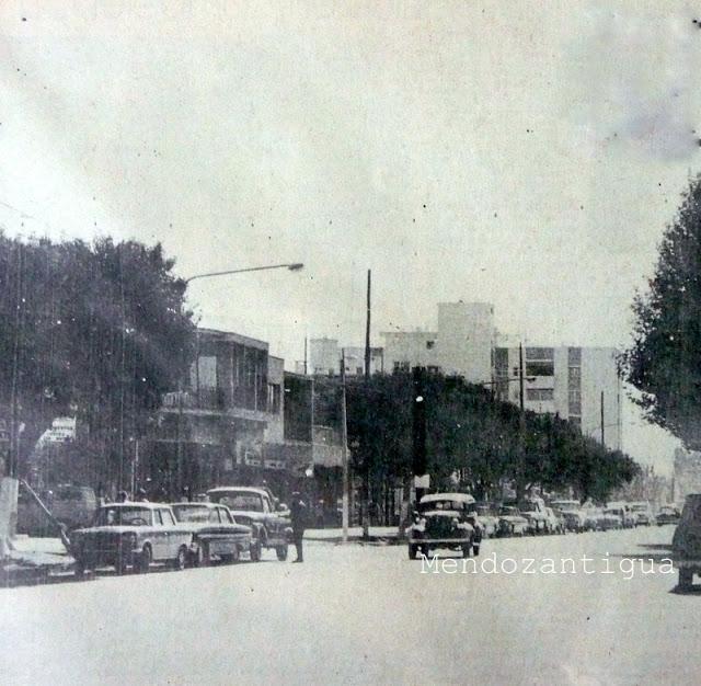 Centro de la Ciudad del Departamento de Lujan de Cuyo. (1970) BN