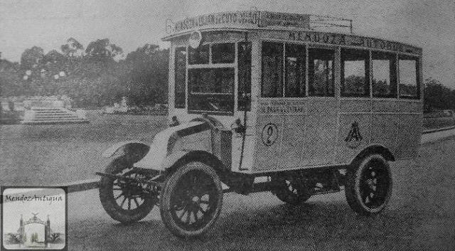 El Pasaje Parque San Martín 1925 BN