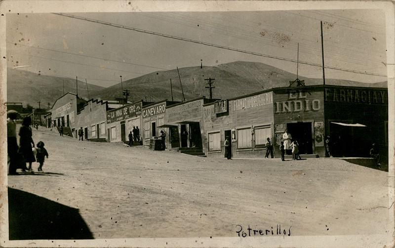 1930 el complejo minero Potrerillos BN