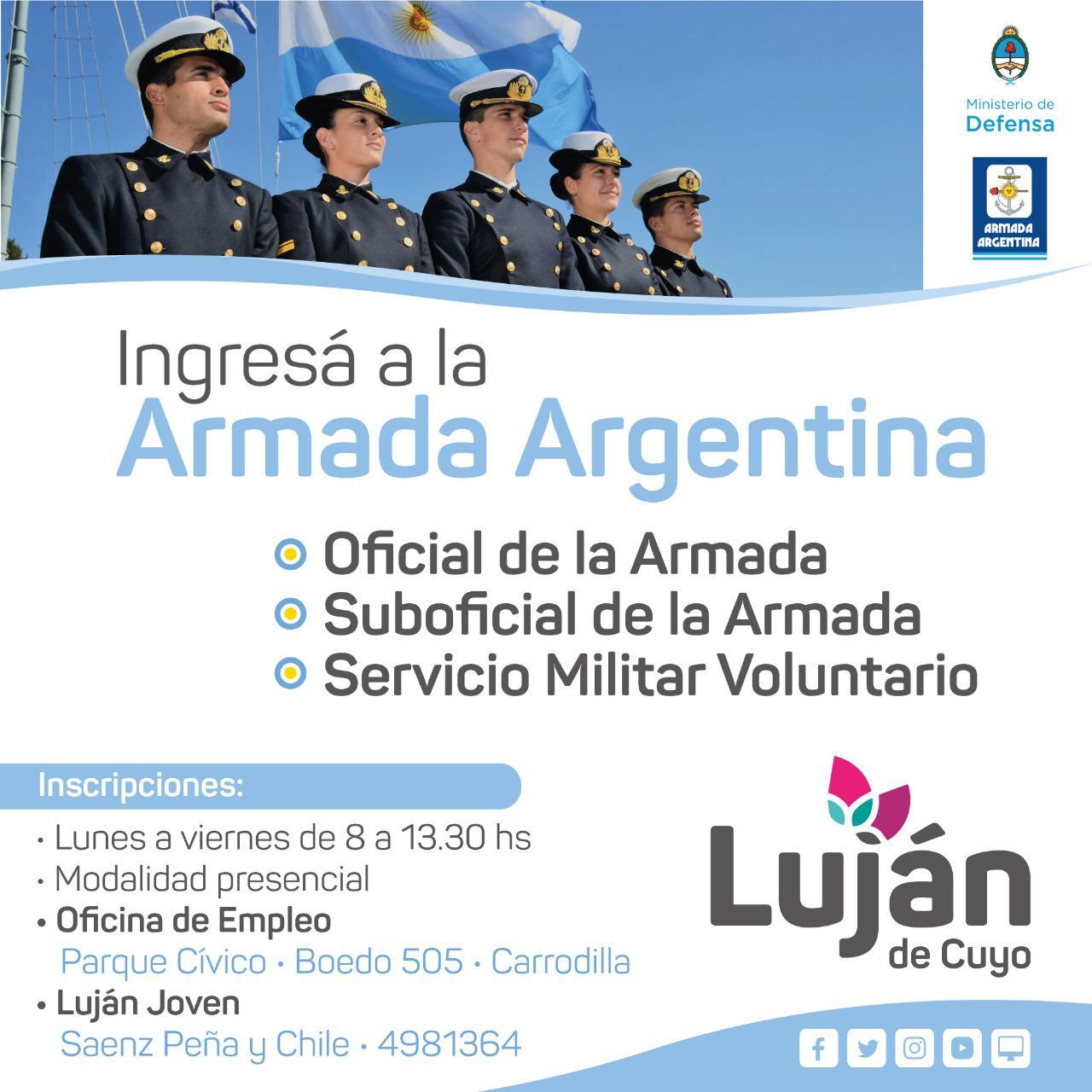 Convocatoria Armada Argentina